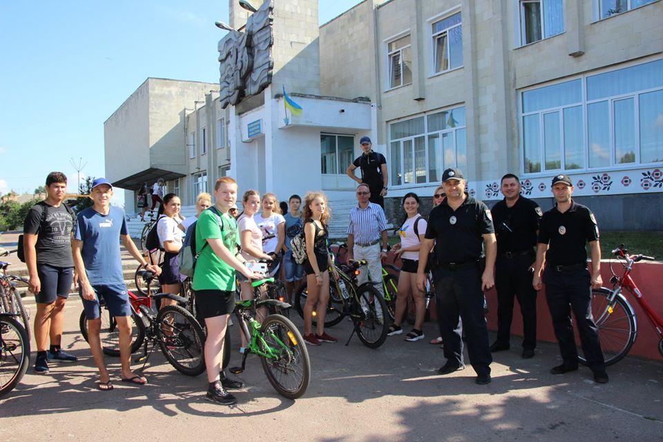 У Сновську пройшов велопробіг (Фото)
