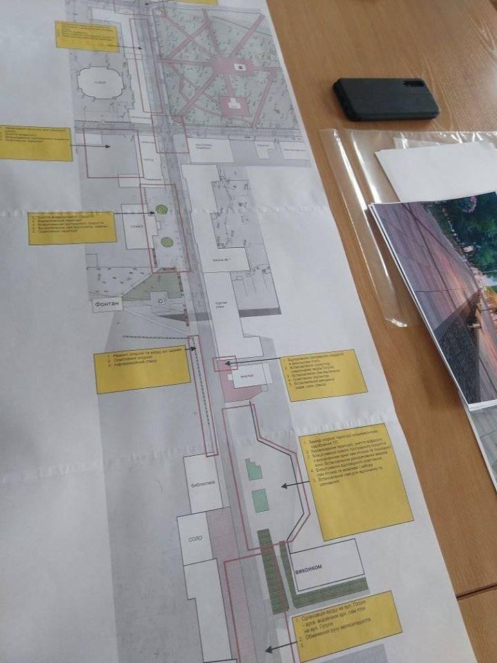 Який вигляд матиме вулиця Гоголя в Ніжині (Фото)