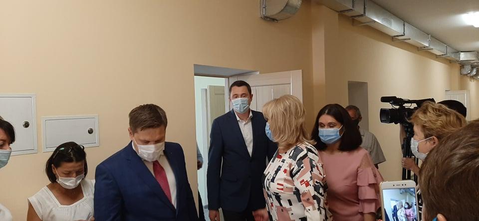 Навчальні заклади Чернігівщини перевірив міністр (Фото)