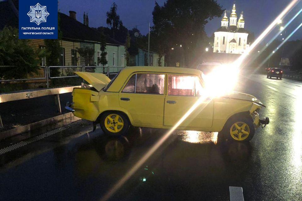 ДТП на в'їзді в Чернігів: п'яний водій віз цілу родину (Фото)