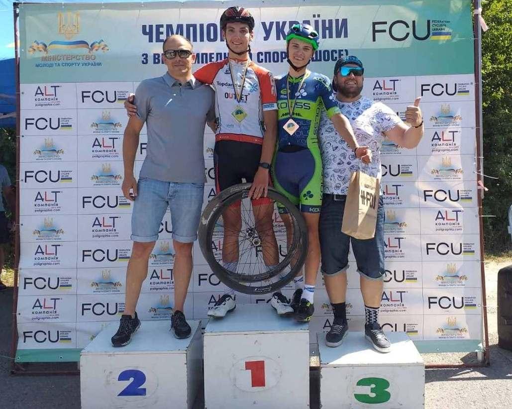 Велоспортсмени Чернігівщини поповнили медальну скарбничку