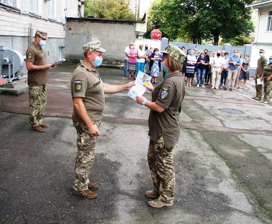 На Чернігівщині нагородили кращих військових (Фото)