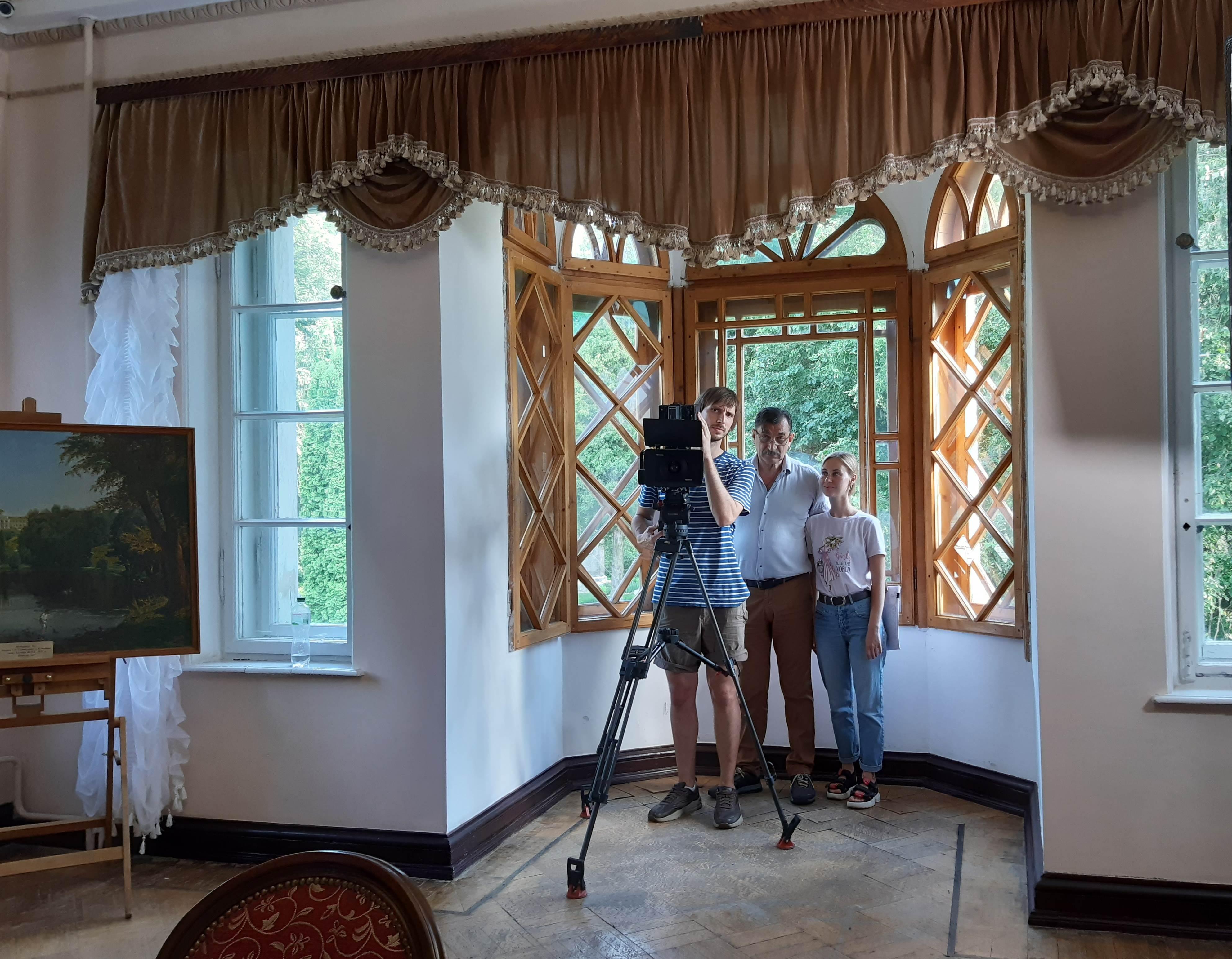 У Качанівці знову знімали серіал (Фото)