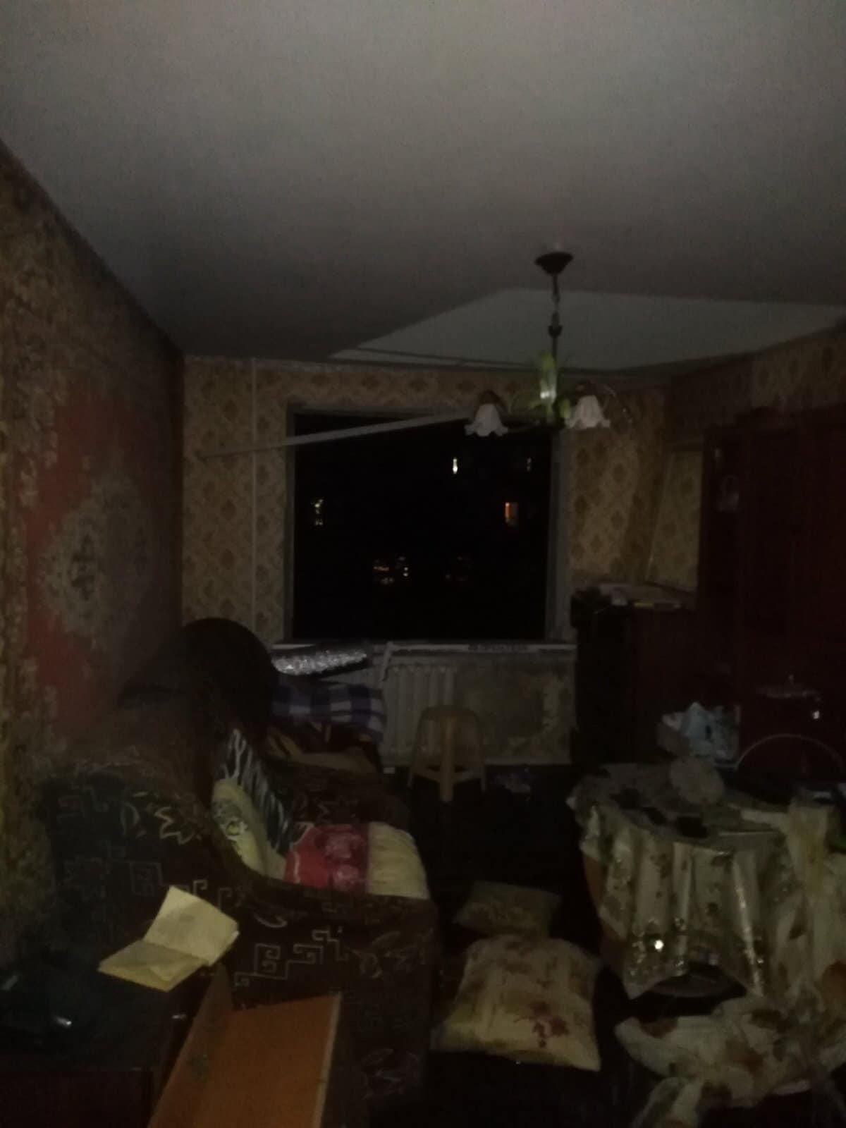 У селищі Десна горіла квартира (Фото)