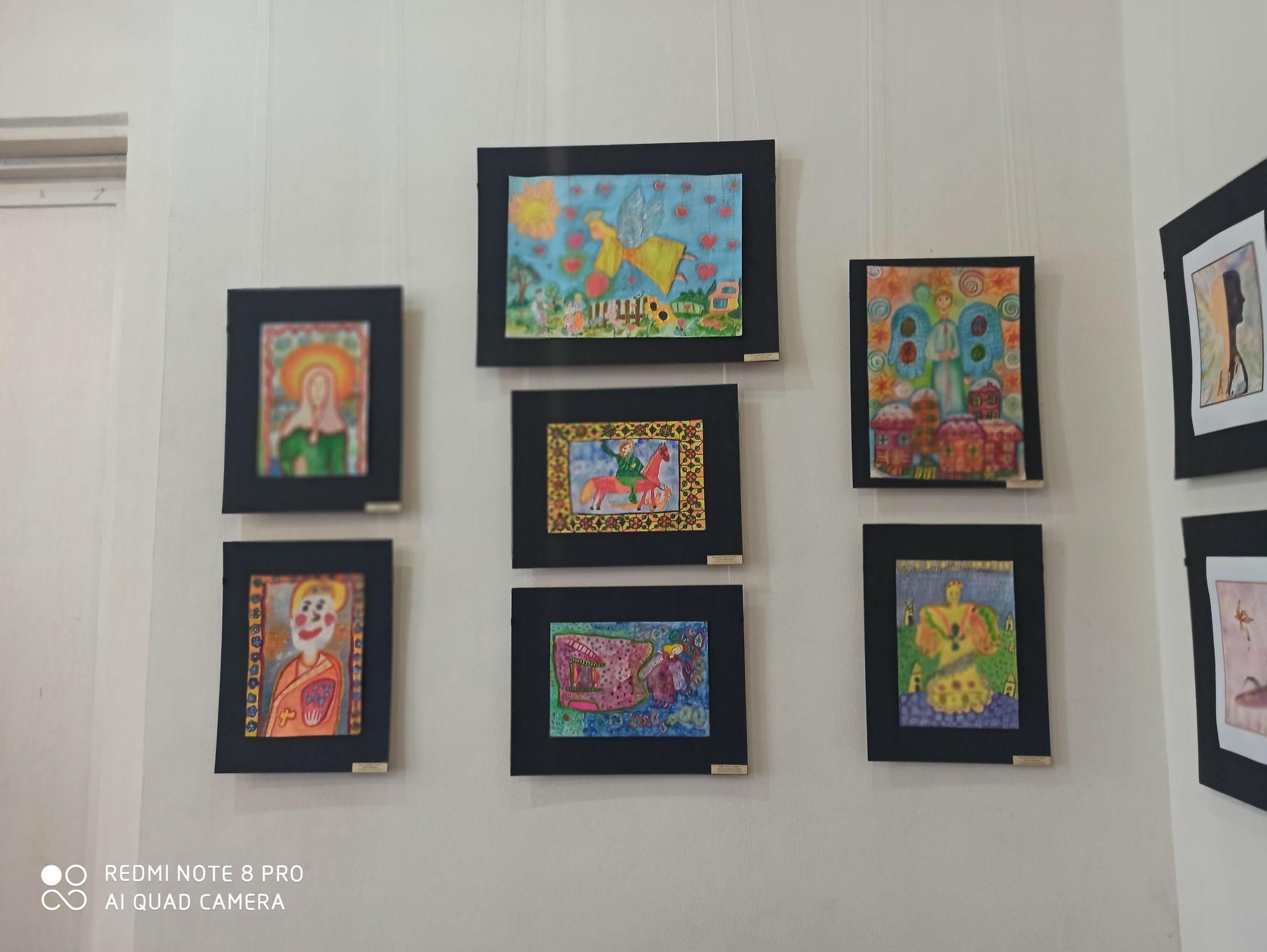 Діти з усієї Чернігівщині малювали Бога (Фото)