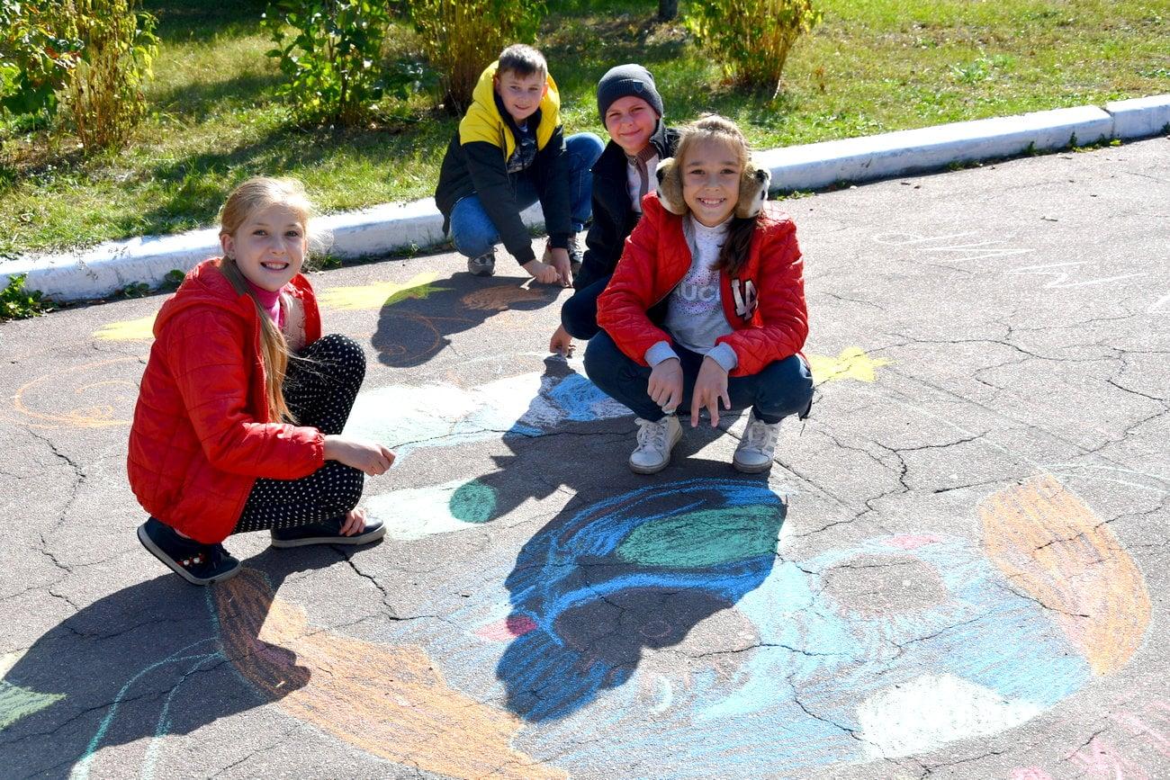У Коропі малювали мрії про мир (Фото)