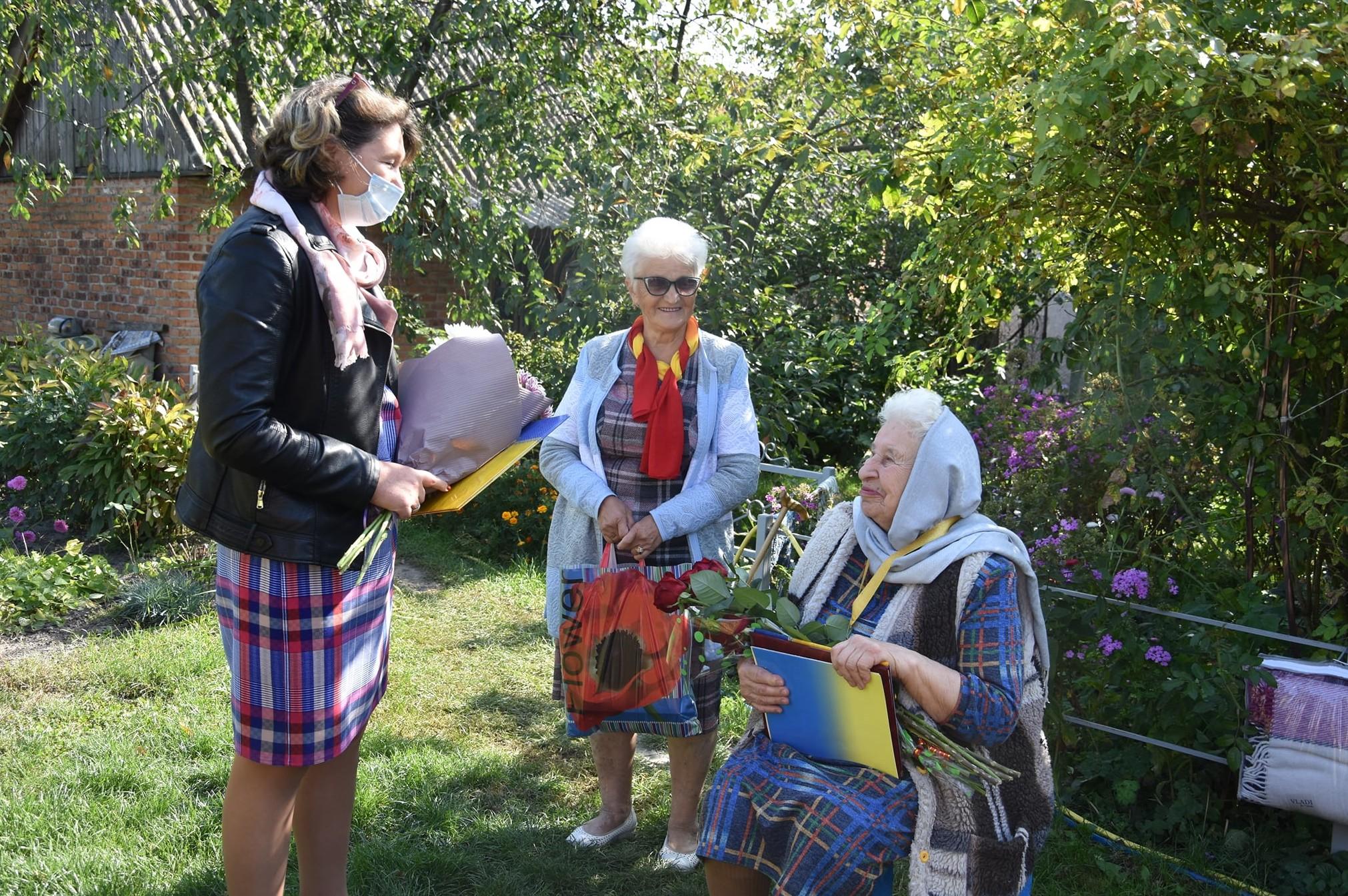 Жителька Носівки Марія Шовкун відзначила 100-літній ювілей