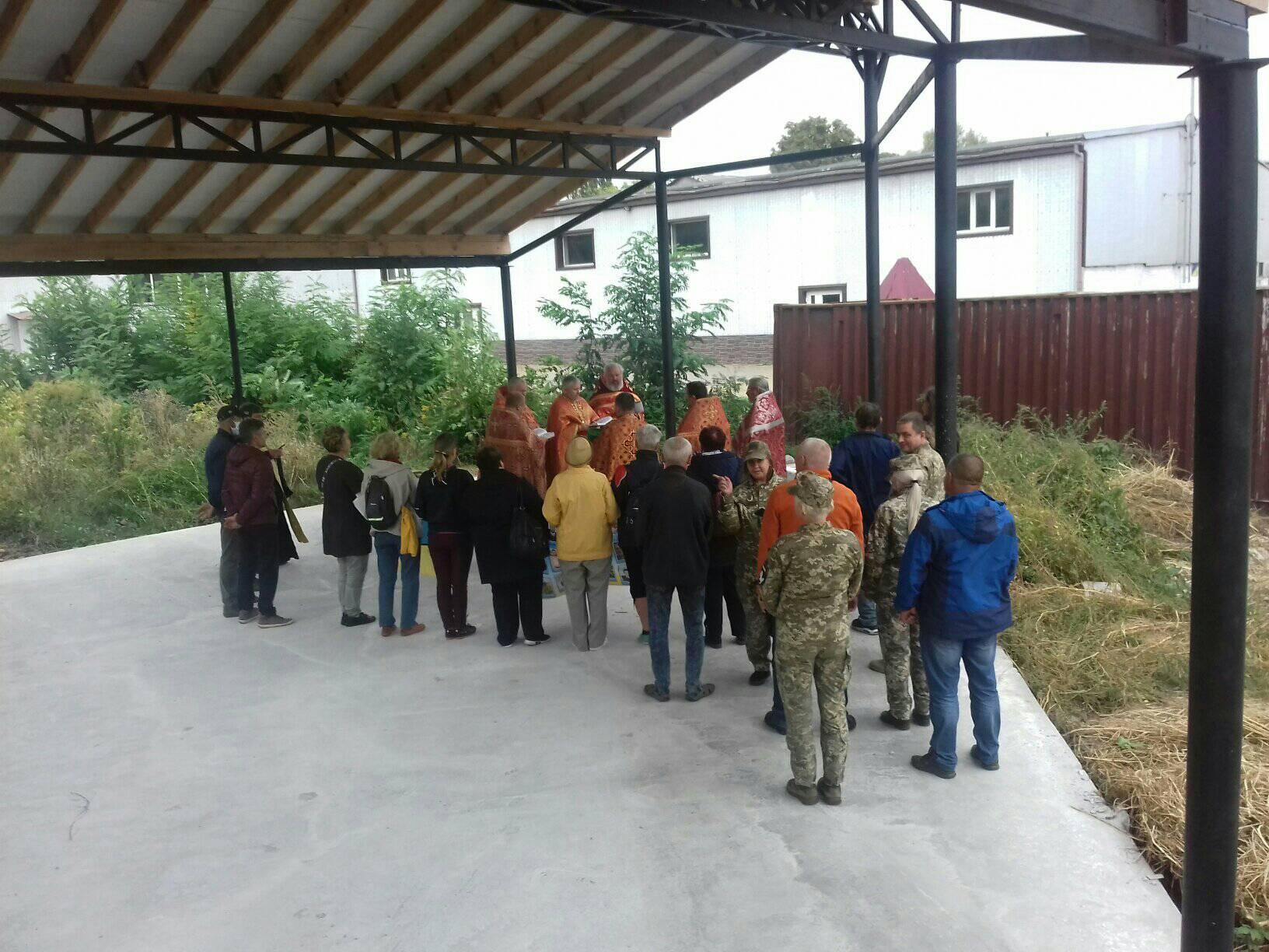 У мікрорайоні Ремзаводу в Чернігові побудують церкву (Фото)
