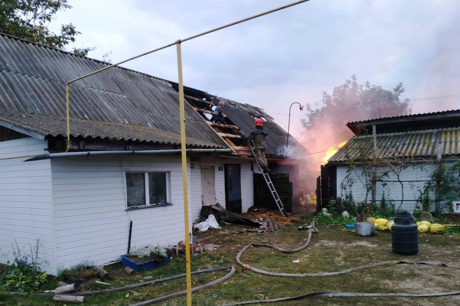 Упродовж минулої доби вогнеборці Чернігівщини ліквідували 6 пожеж (Фото)