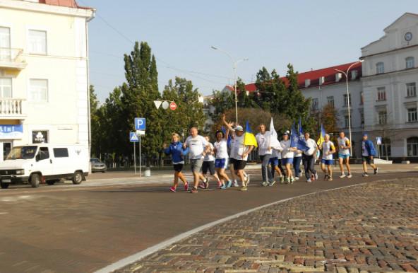 «Європейський пробіг заради миру» на Чернігівщині (Фото)