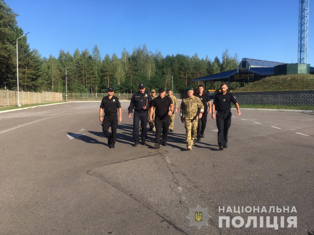 На Чернігівщині правоохоронці розробили алгоритм дій на випадок загострення ситуації на кордоні (Фото)