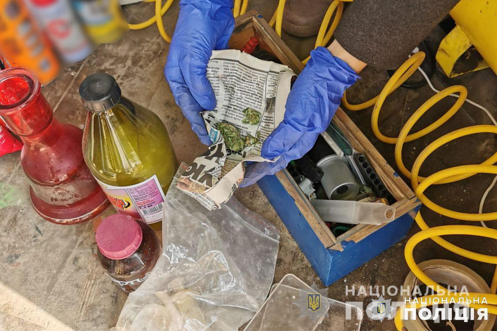 На Чернігівщині ліквідовано підпільну нарколабораторію (Фото)