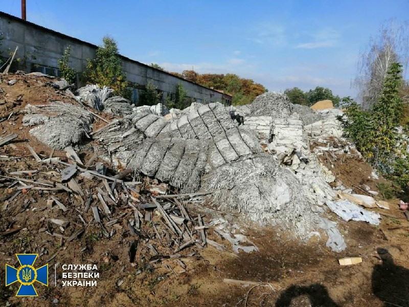 На Чернігівщині СБУ викрила порушення екологічних норм під час утилізації промислових відходів (Фото)