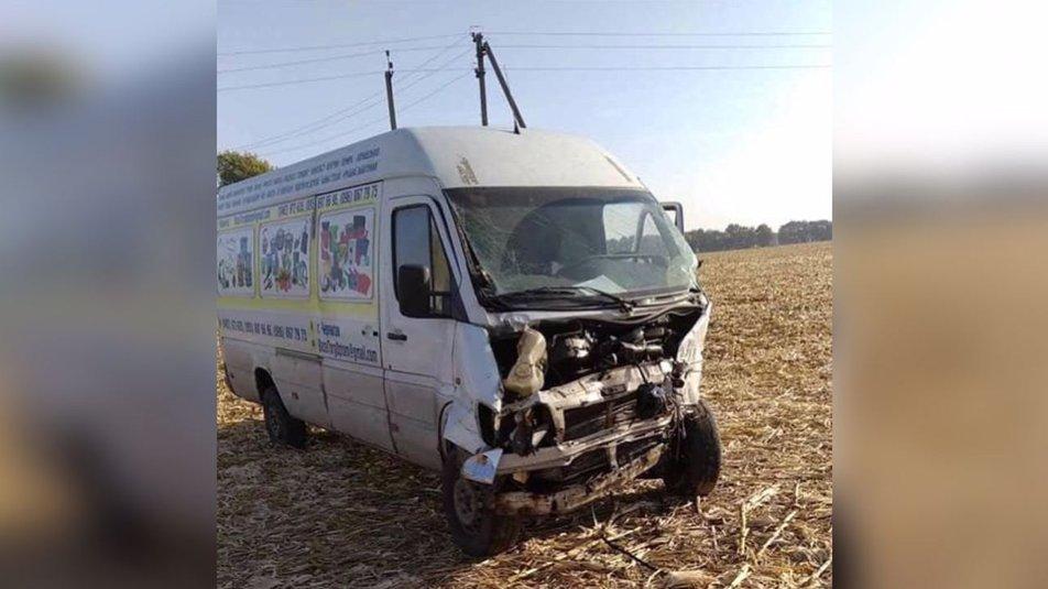 У результаті ДТП неподалік Ічні постраждали 5 осіб (Фото)