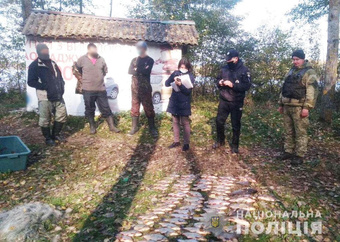 У Чернігівському районі затримали браконьєрів (Фото)