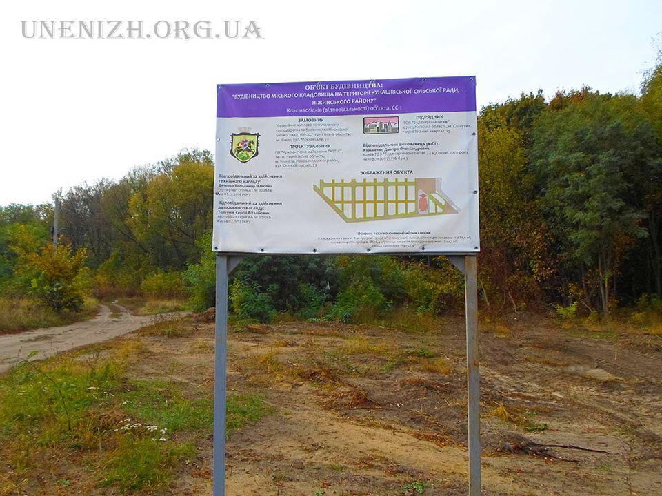 Нове кладовище незабаром з'явиться у Ніжині (Фото)