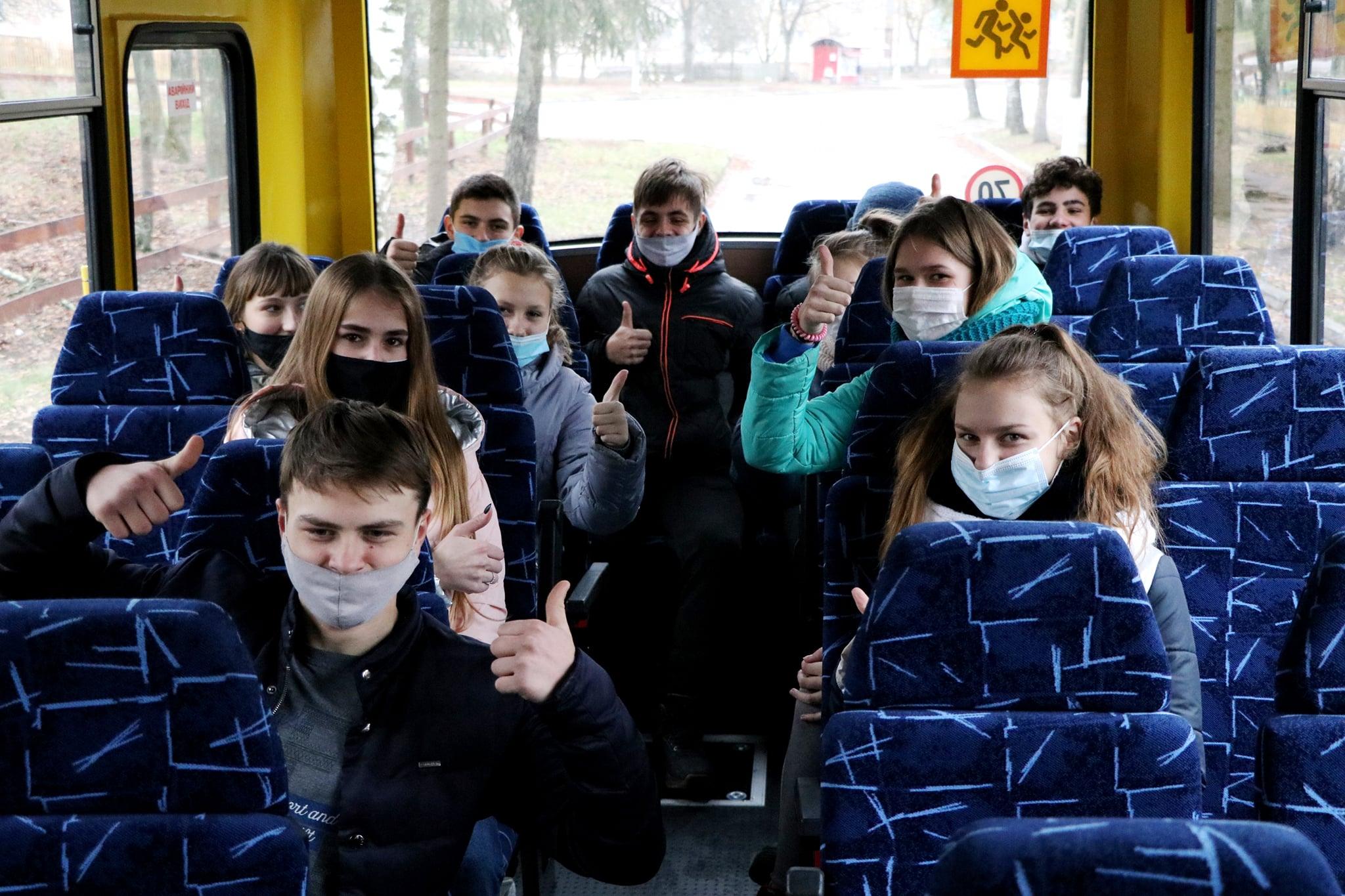 Наумівська школа отримала новий автобус (Фото)