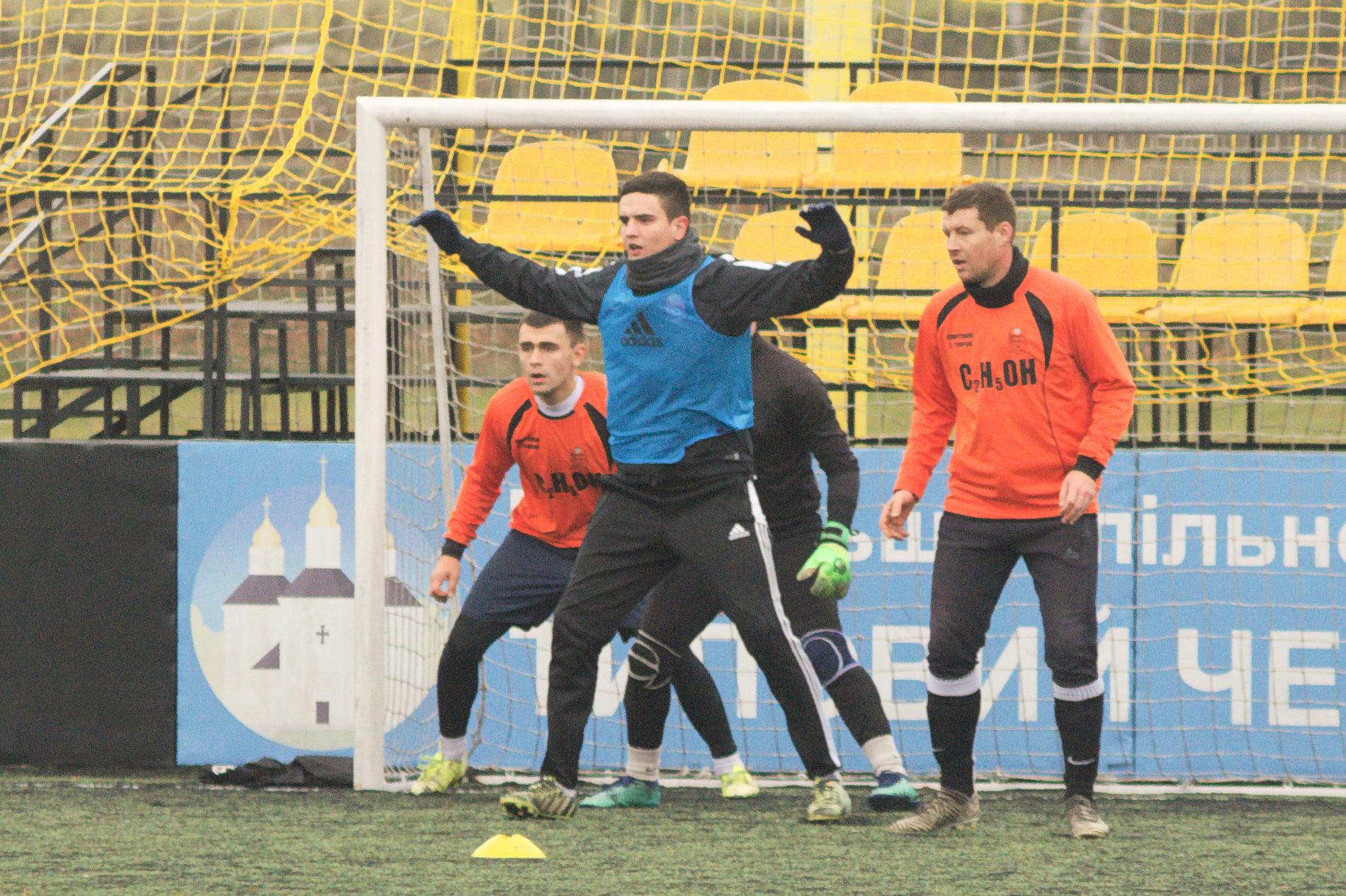 У Чернігові визначили володаря Кубку з футболу «Зимова іскра»