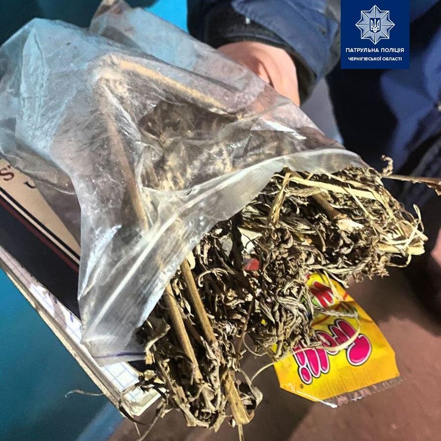 У двох чернігівців знайшли наркотики (Фото)