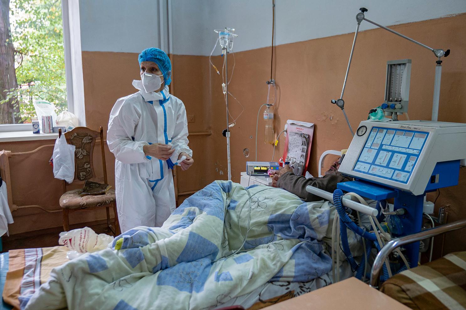COVID-19 у Чернігові: чи є місця та кисень для хворих на коронавірус у  лікарнях міста – ЧЕline |