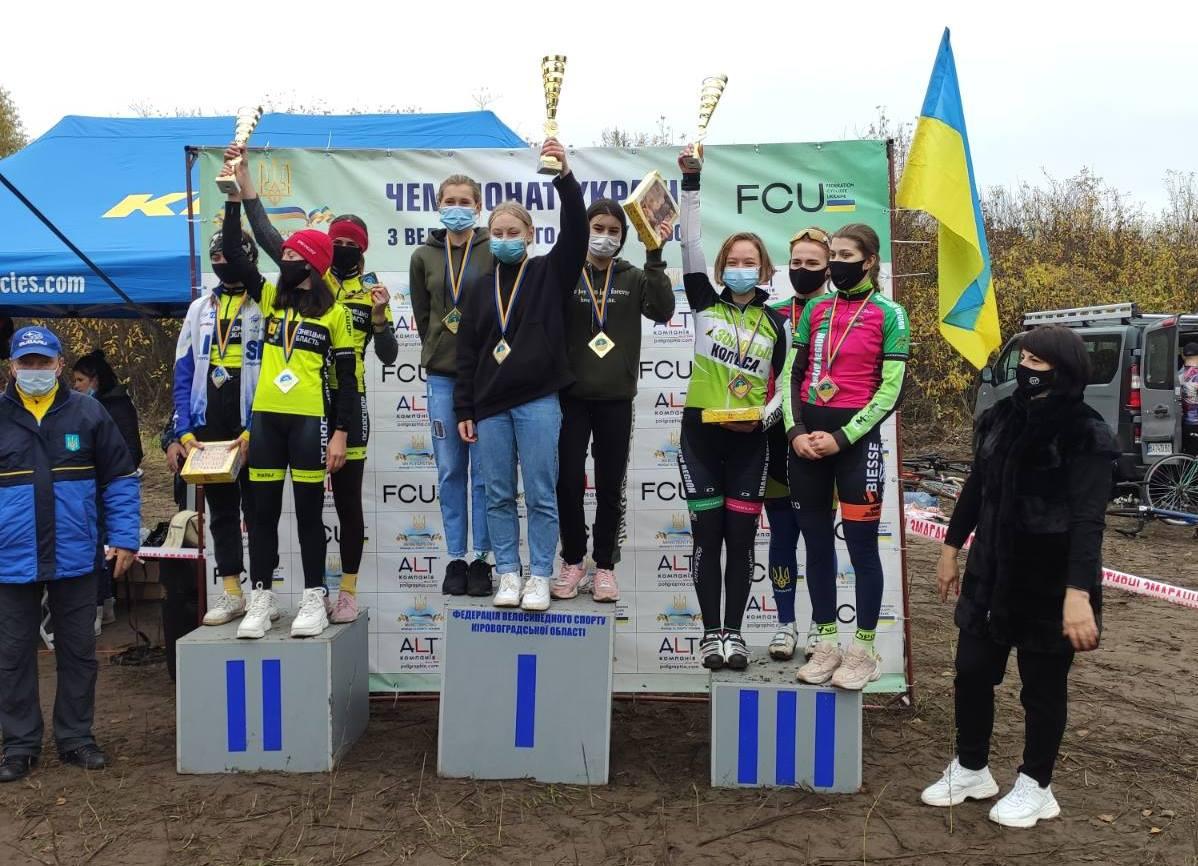 Велогонщики Чернігівщини на п'єдесталі чемпіонату України з велосипедного спорту