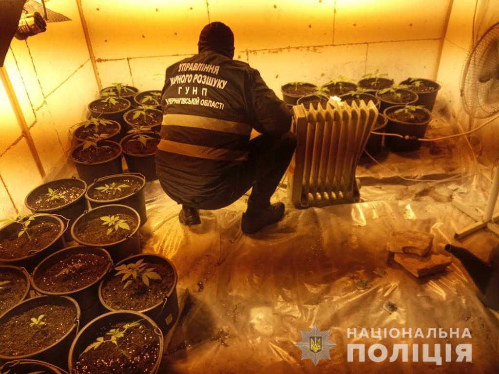 На Чернігівщині поліцейські ліквідували діяльність нарколабораторій (Фото)