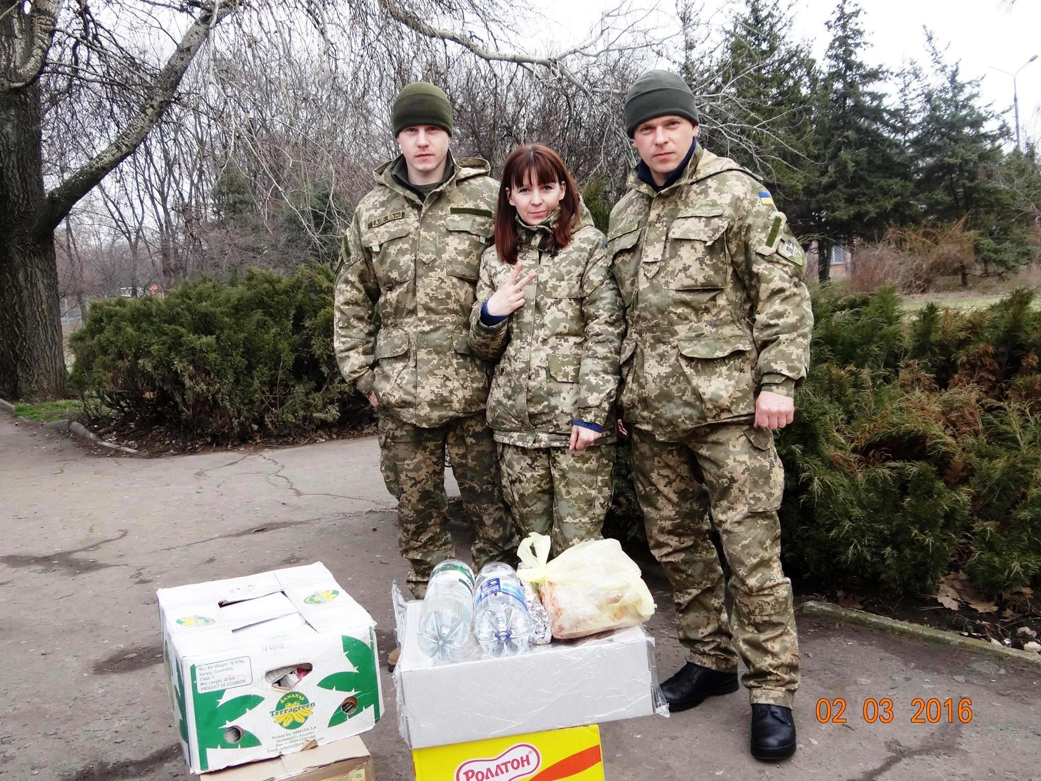 Волонтерство – її життя