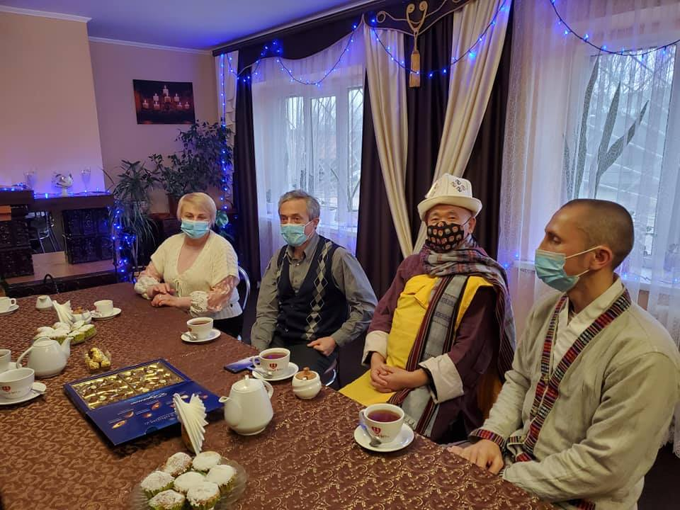 На Чернігівщину приїжджав буддійський монах