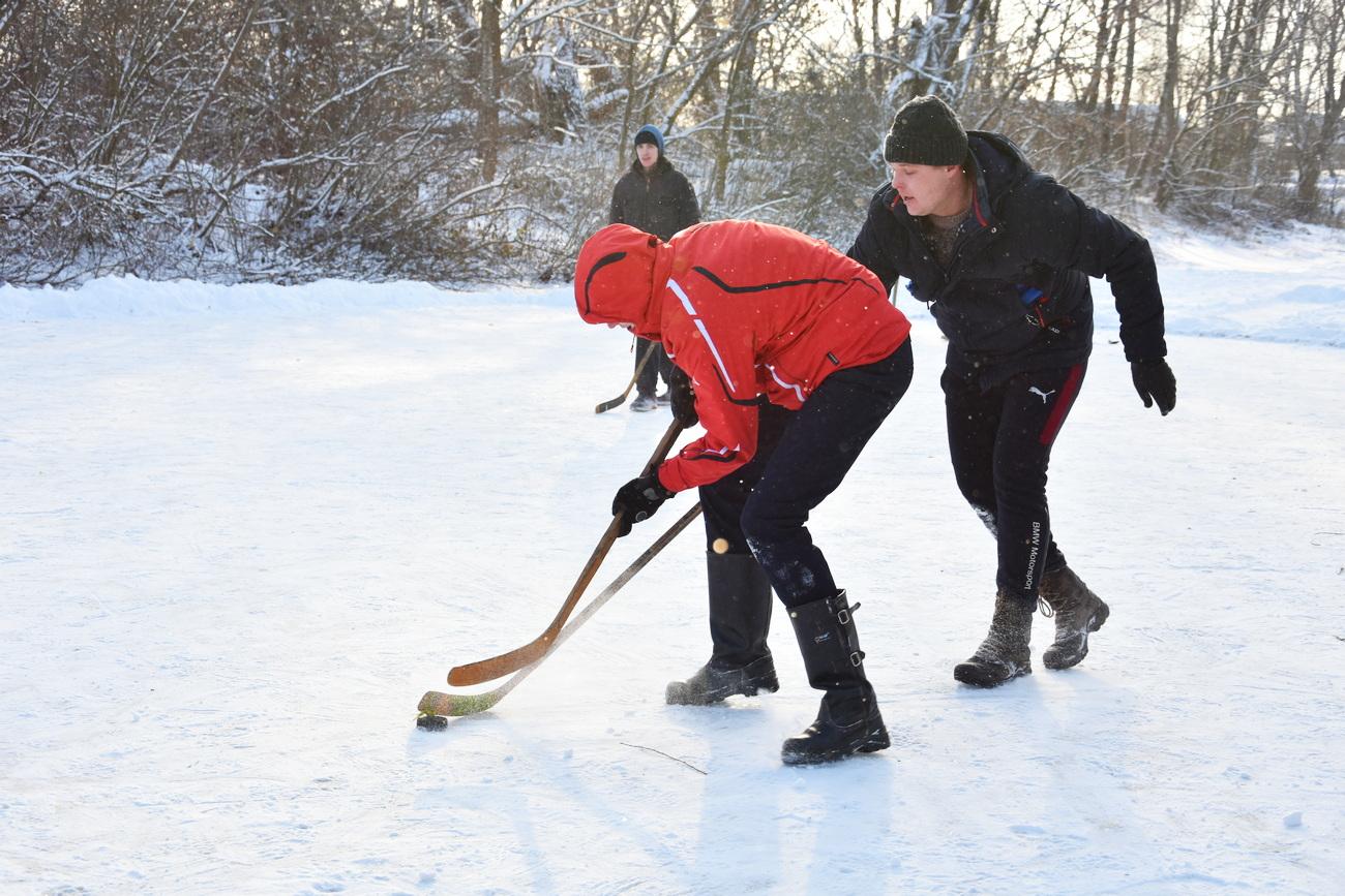 Хокеїсти-аматори Риботина змагалися за Кубок золотого бурка (Фото)