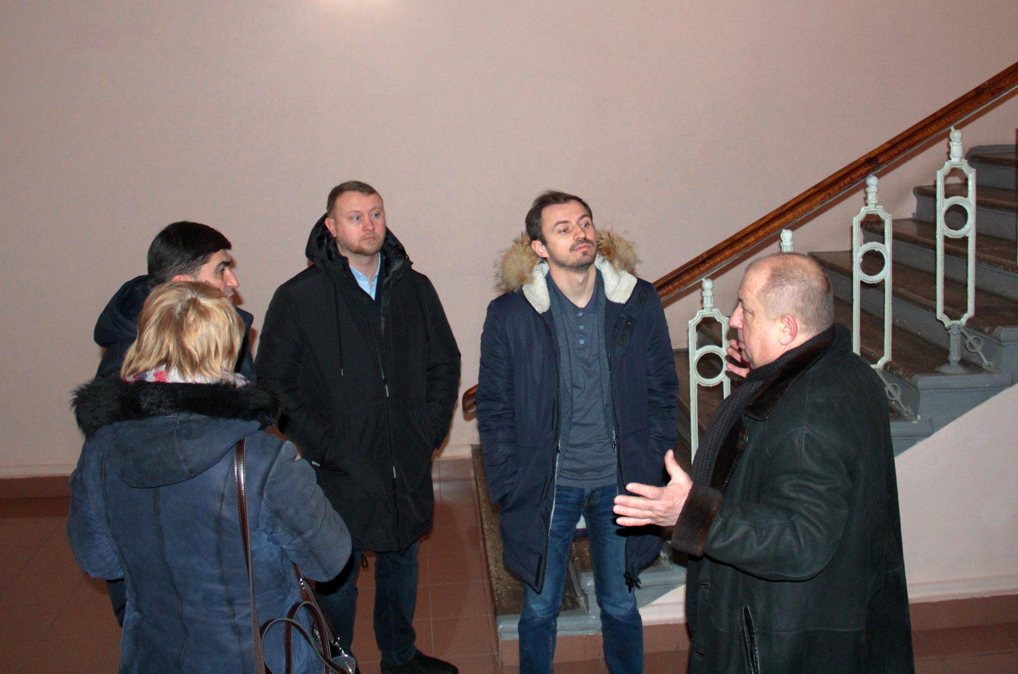 Заступник міністра розвитку громад та територій України проінспектував хід робіт з реставрації будівлі чернігівської філармонії (Фото)