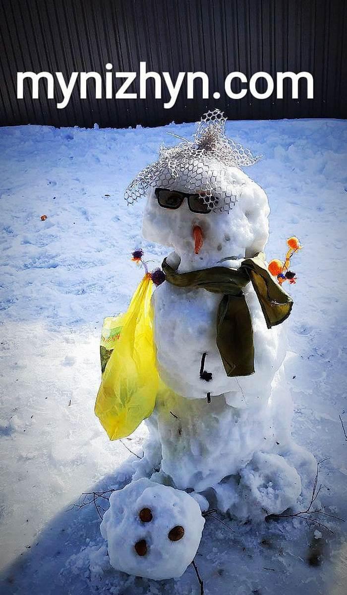 У Ніжині влаштували «Прощальний бал сніговиків» (Фото)