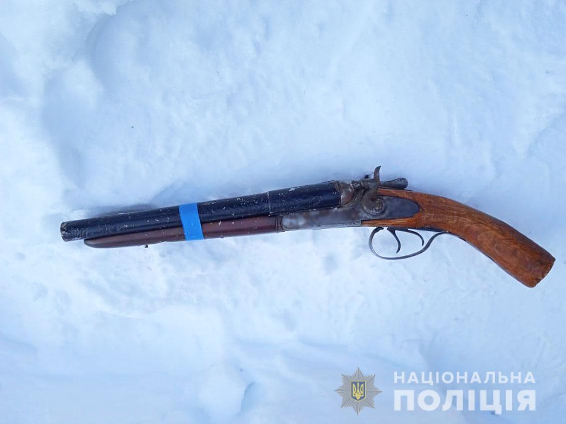 Новгород-Сіверська поліція вилучила обріз у жителя району (Фото)