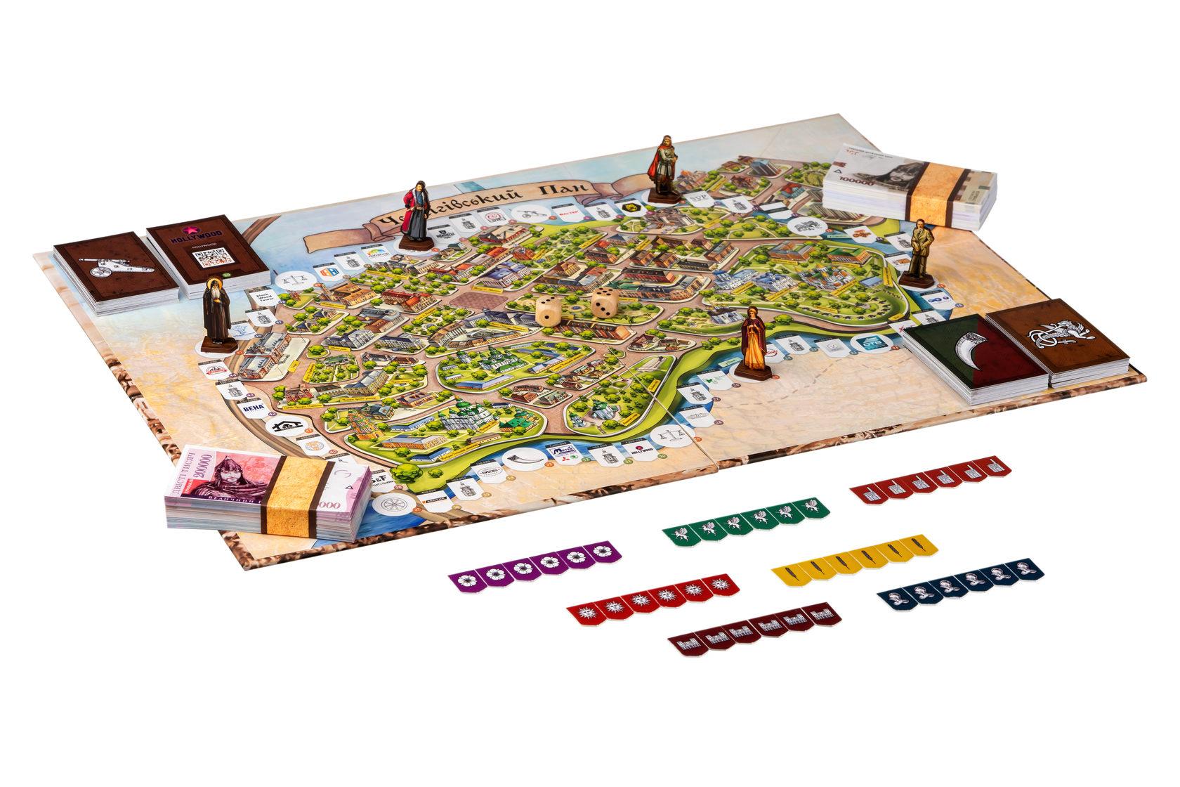 «Чернігівський пан»: історично-економічна гра про наше місто вже у продажу (Фото)