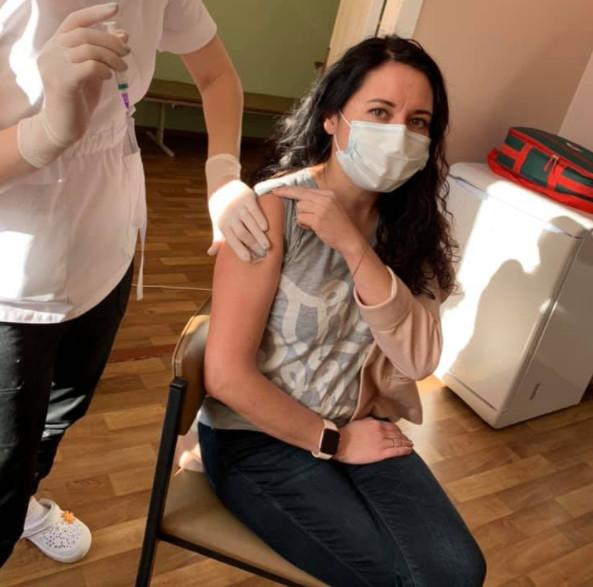 Громадські діячі Чернігівщини долучаються до кампанії вакцинації від COVID-19 (Фото)