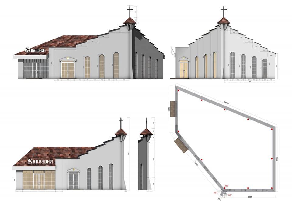 У Чернігові облаштовують православну церкву, орієнтовану на молодь і воїнів (Фото)