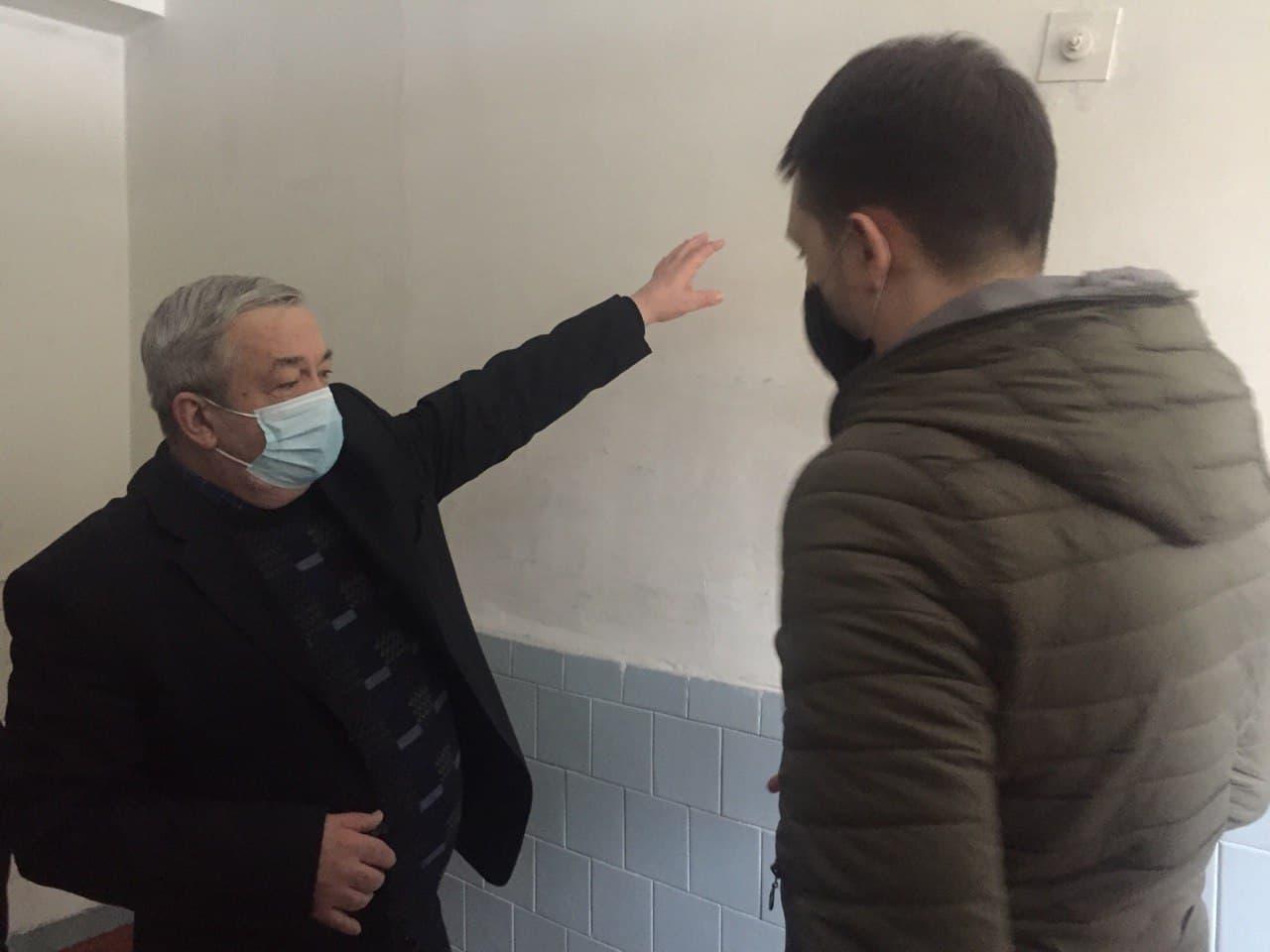 Чернігівський навчально-реабілітаційний центр №1 потребує ремонту санвузлів