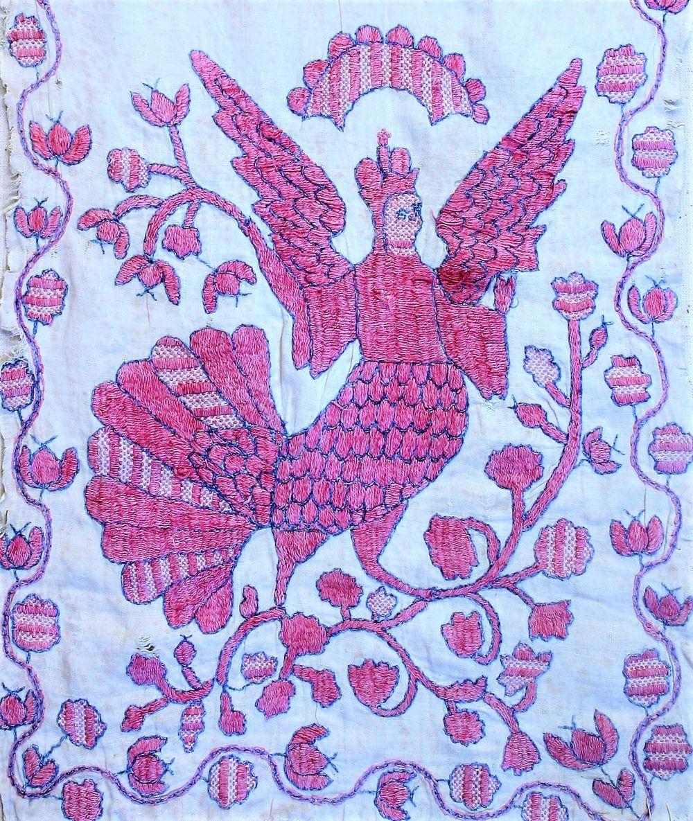 На Чернігівщині були популярні зображення напівжінок-напівптахів сиринів (Фото)