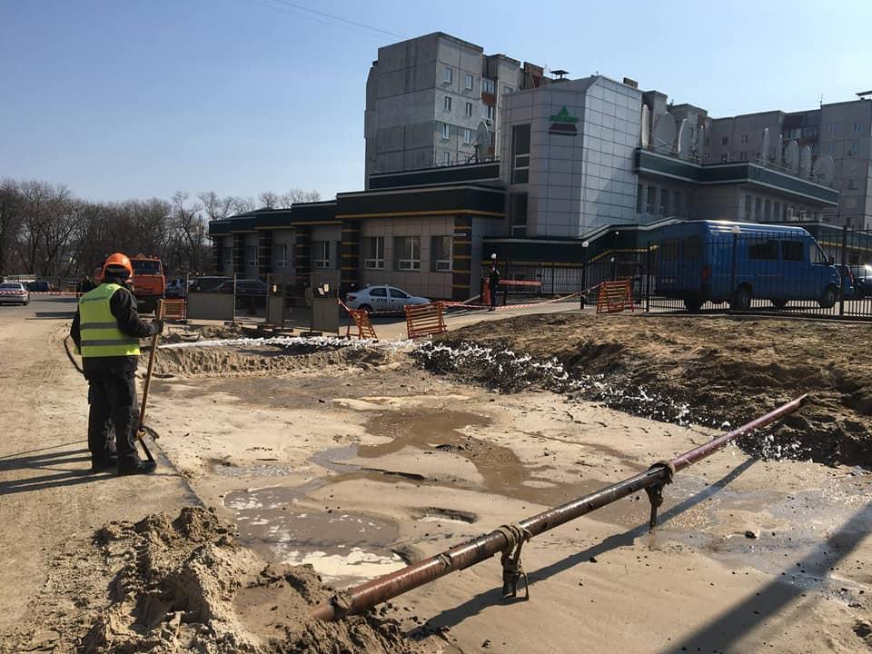 Ремонтні роботи по вулиці Котляревського у Чернігові тривають (Фото)