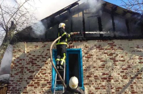 У Чернігівській області під час пожежі загинув 30-річний чоловік (Фото)