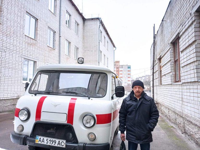 Городнянська міська лікарня отримала авто (Фото)