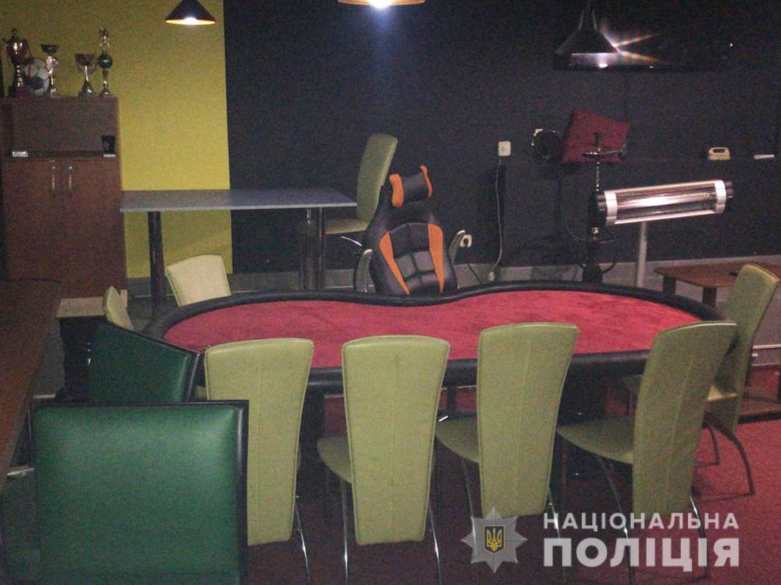 У центрі Чернігова викрили незаконний гральний заклад (Фото)