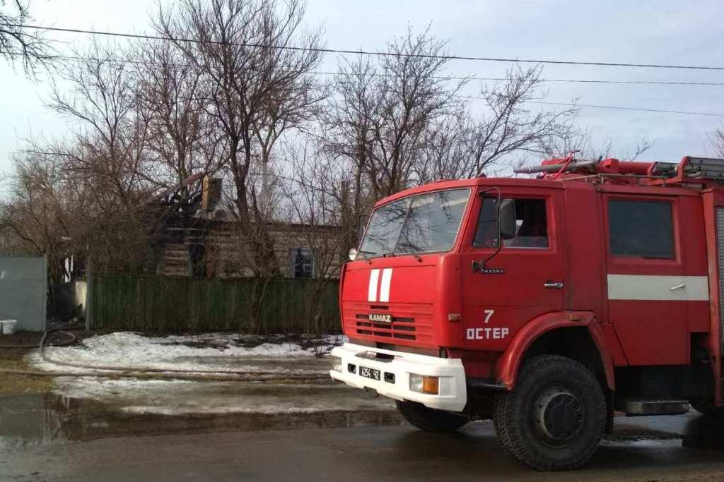 Чернігівські вогнеборці врятували 74-річного чоловіка (Фото)