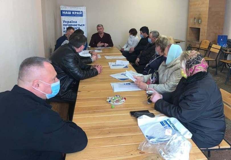 Переваги і перспективи розвитку території обговорили в Седнівській громаді