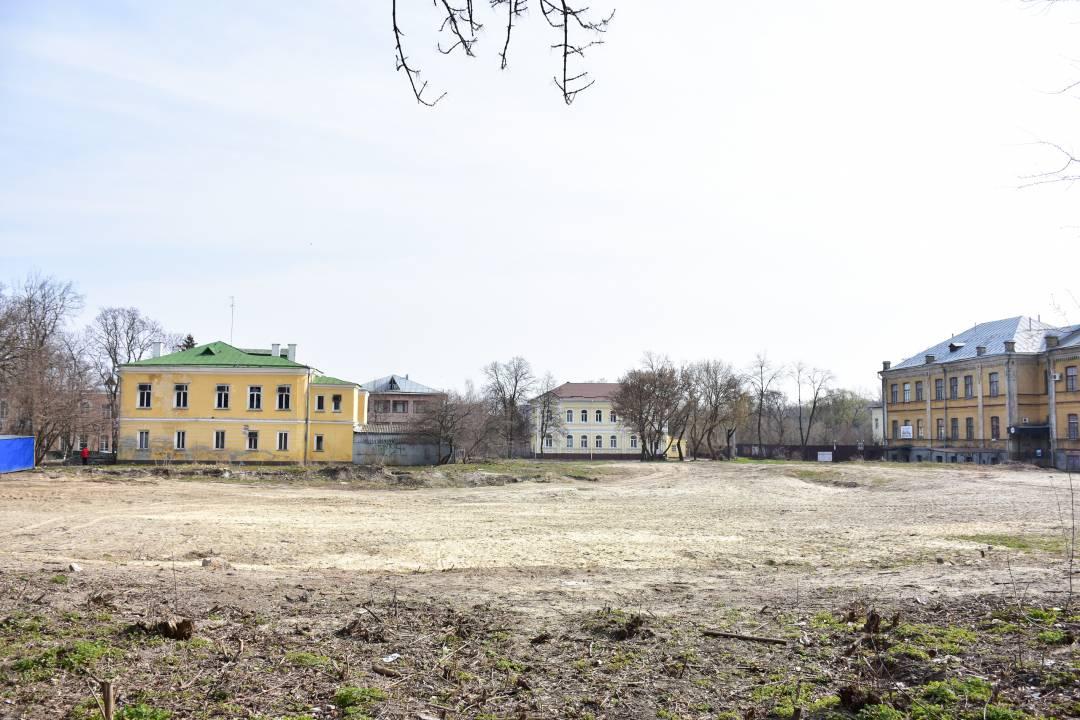 На чернігівському Валу відновили ремонтні роботи (Фото)