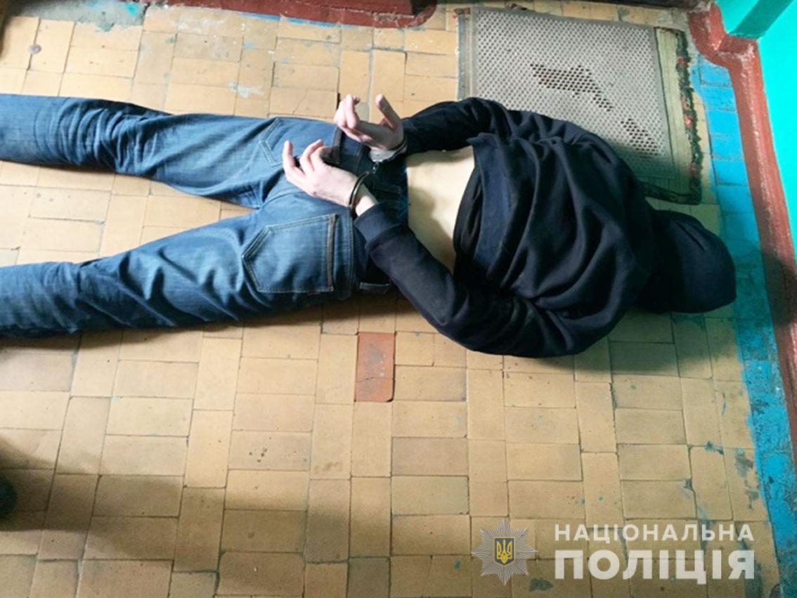 На Чернігівщині молодики викрадали будівельне обладнання (Фото)