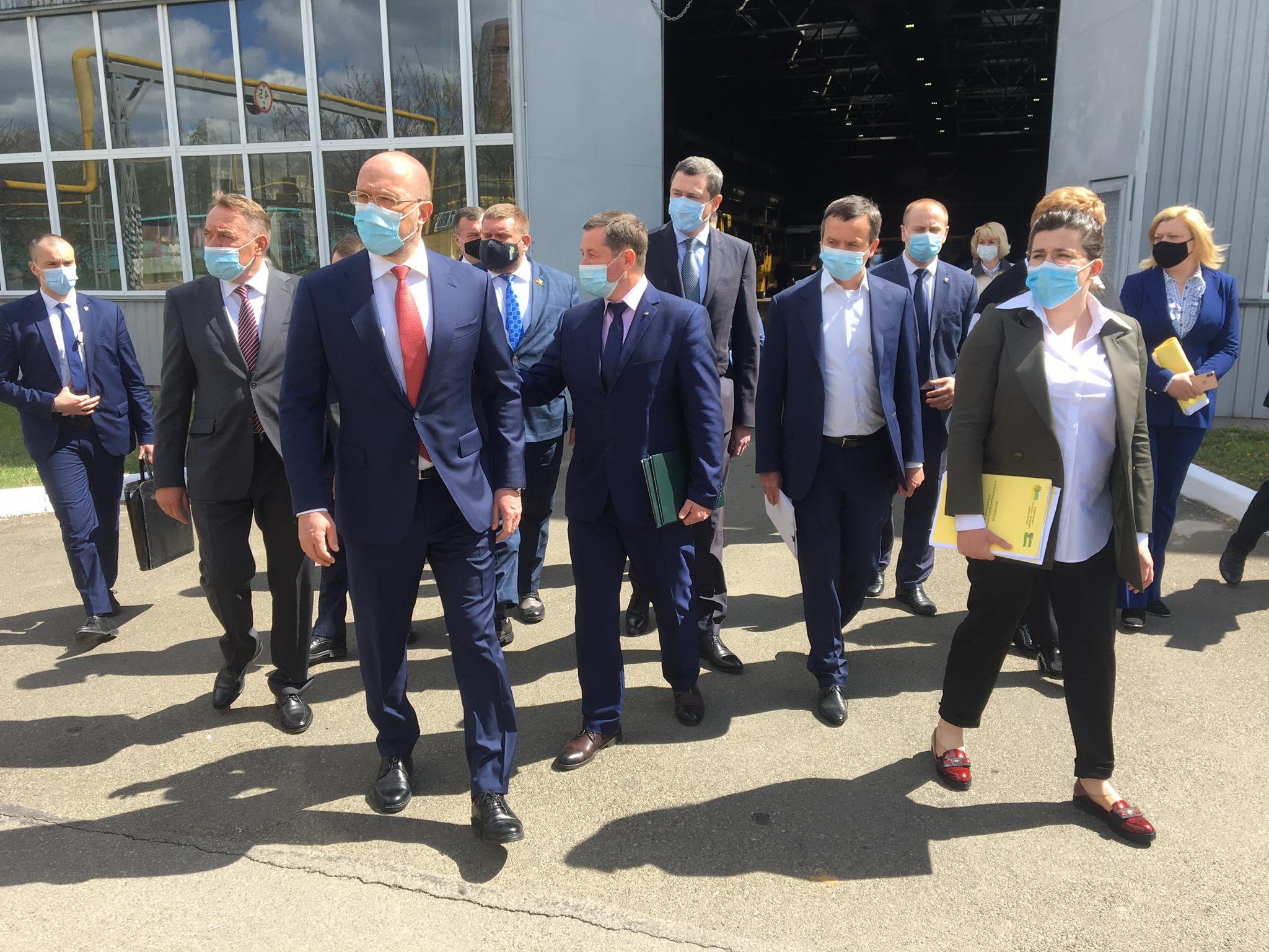 До Чернігова приїхав Прем'єр-міністр (Фотофакт)