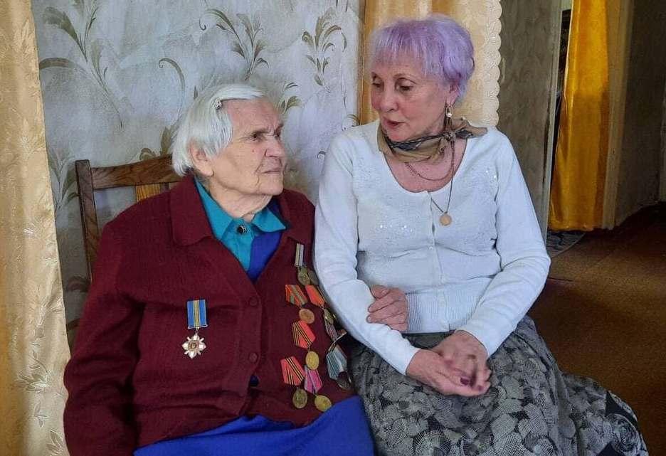 На Чернігівщині проживає 102-річна партизанка (Фото)