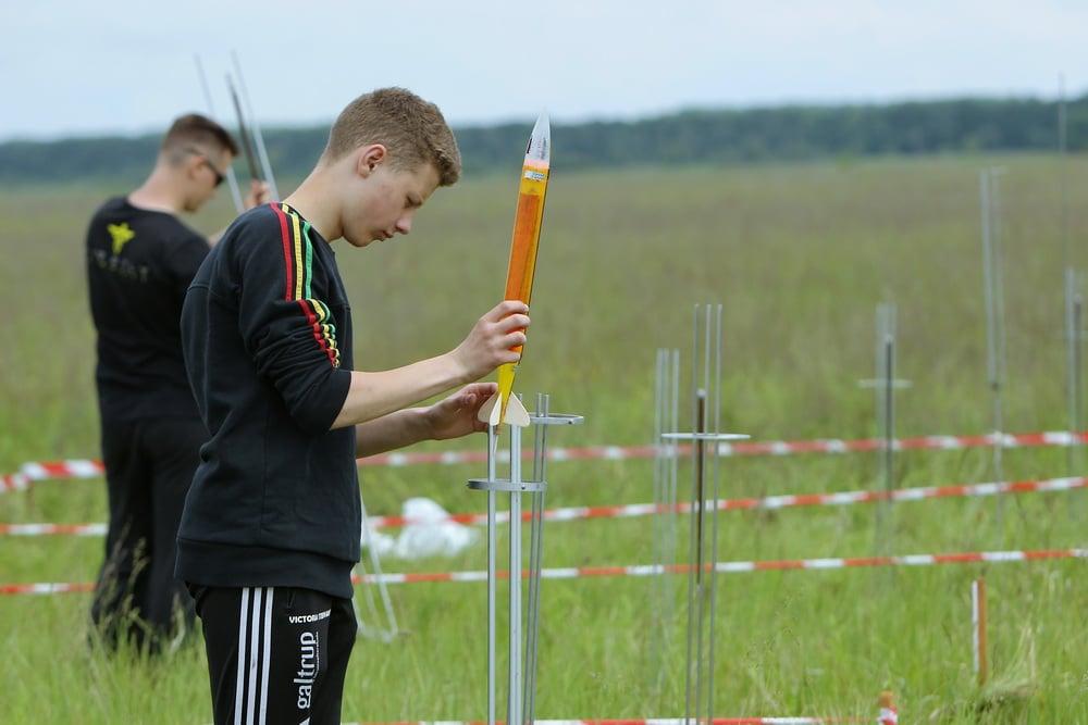 На Чернігівщині змагалися юні ракетомоделісти (Фото)