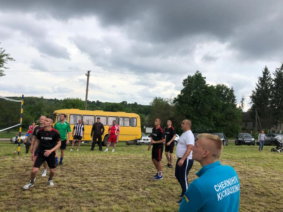 На Чернігівщині підтримують і популяризують спорт у сільській місцевості
