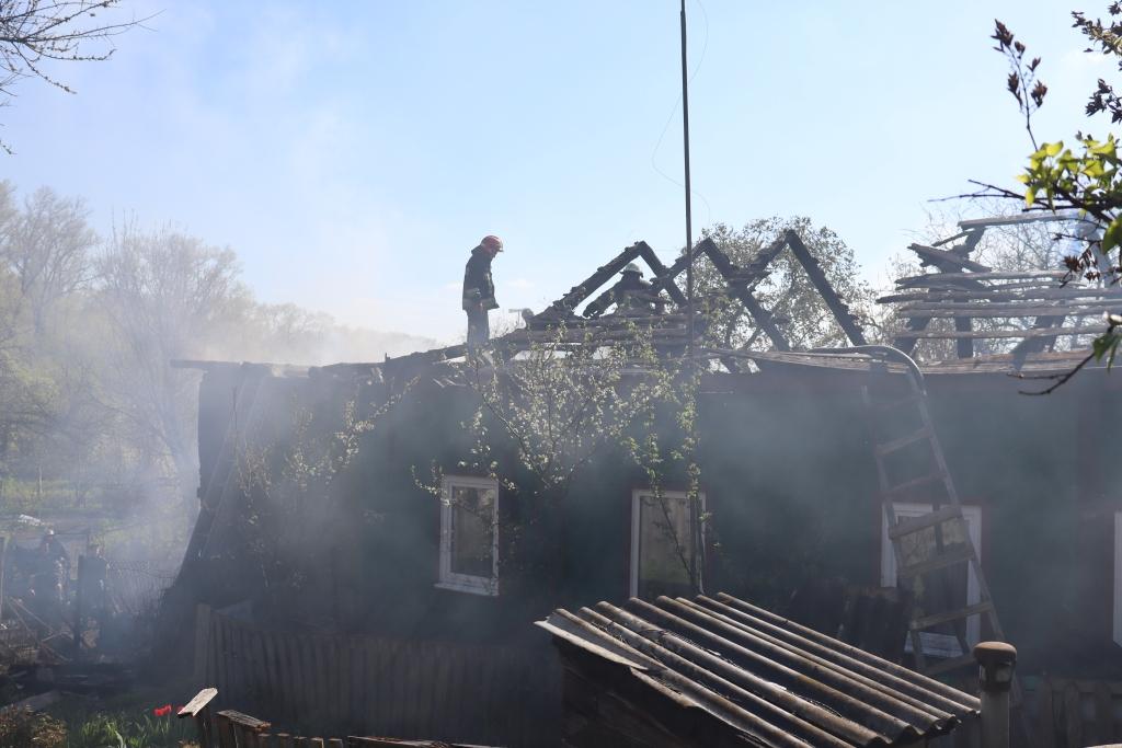 Відомі подробиці пожежі на Старостриженській у Чернігові (Фото)